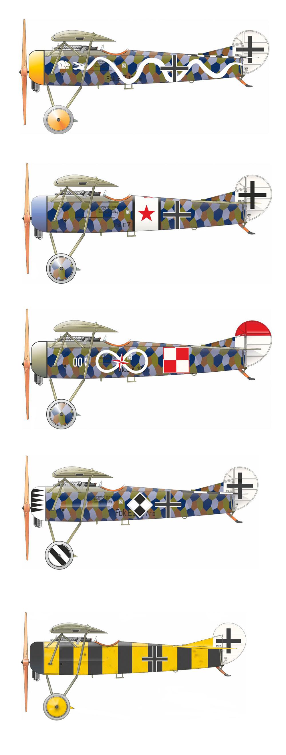 フォッカー D.8プラモデル(エデュアルド1/48 プロフィパックNo.8085)商品画像_2