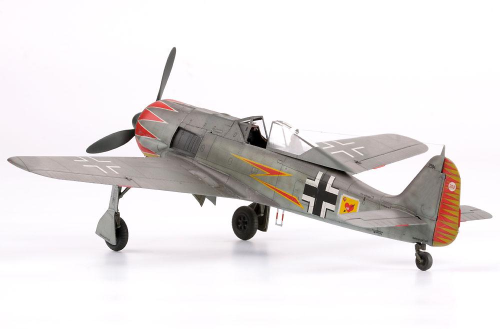 フォッケウルフ Fw190A-5 軽武装型プラモデル(エデュアルド1/48 プロフィパックNo.82143)商品画像_4