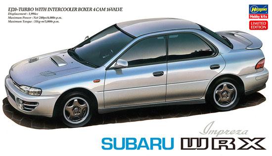 スバル インプレッサ WRXプラモデル(ハセガワ1/24 自動車 限定生産No.20333)商品画像