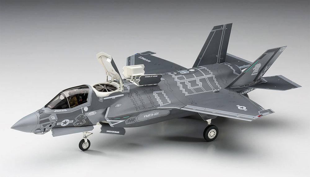 F-35 ライトニング 2 (B型) U.S.マリーンプラモデル(ハセガワ1/72 飛行機 EシリーズNo.E046)商品画像_3