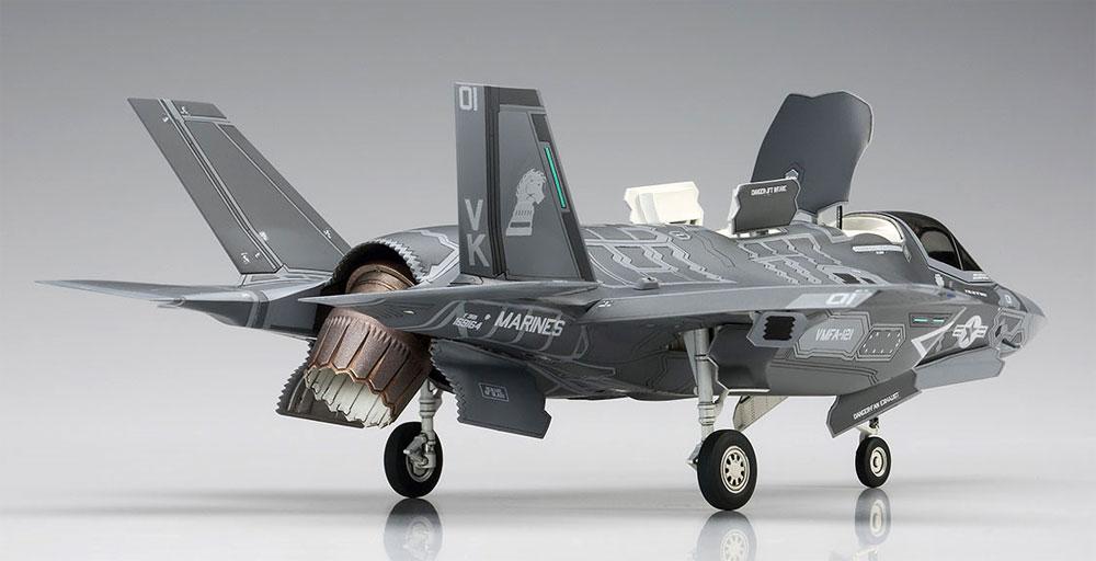 F-35 ライトニング 2 (B型) U.S.マリーンプラモデル(ハセガワ1/72 飛行機 EシリーズNo.E046)商品画像_4