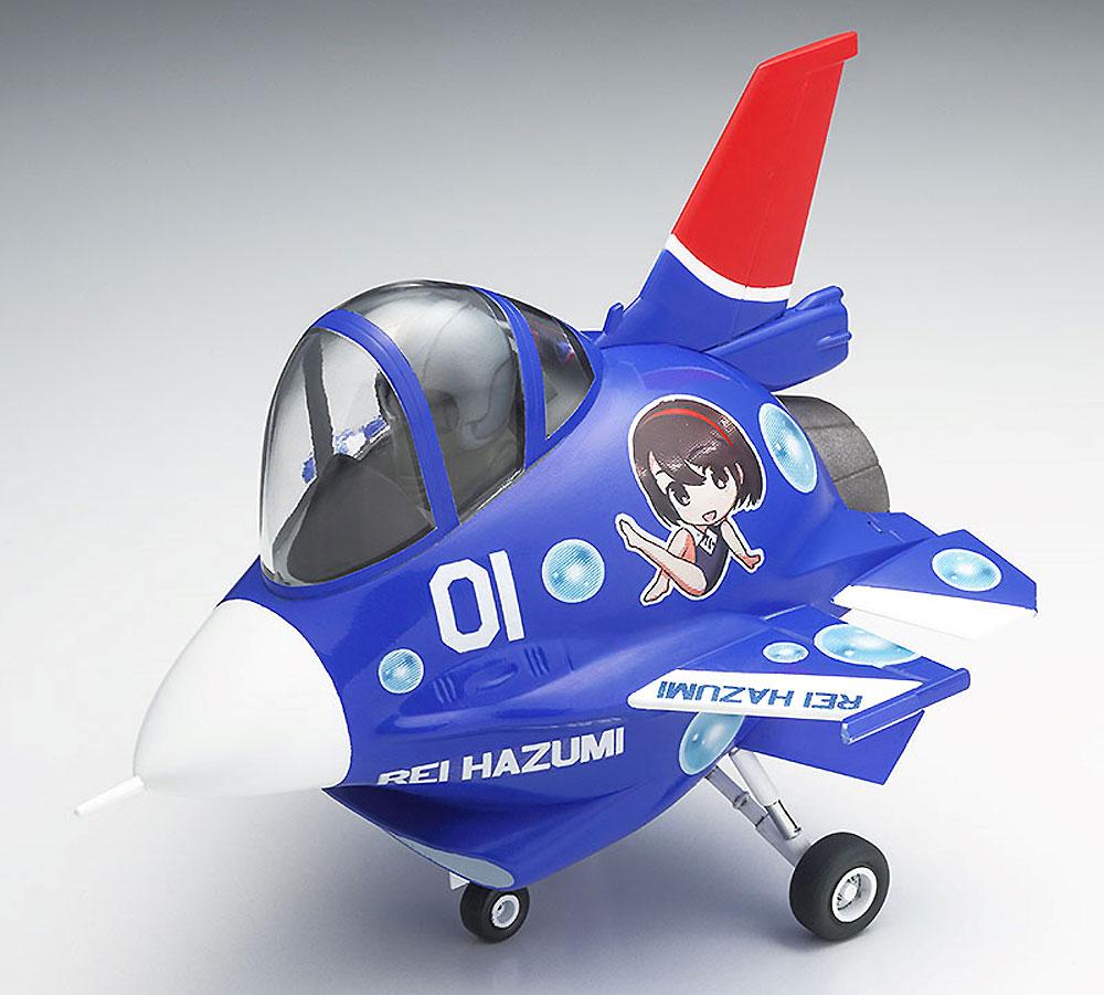 羽澄れい w/F-2プラモデル(ハセガワたまごガールズコレクションNo.001)商品画像_4