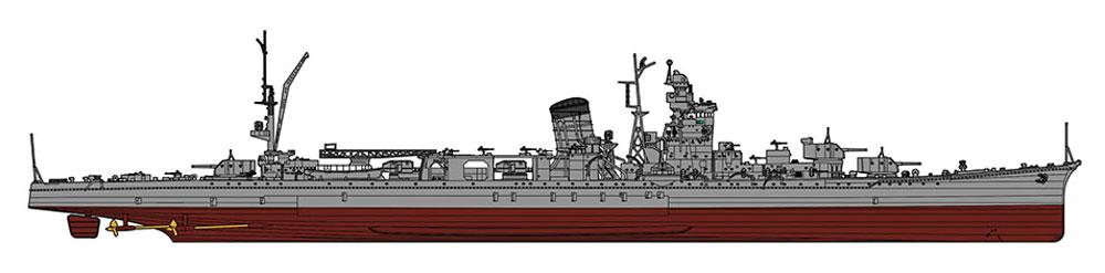 日本海軍 軽巡洋艦 酒匂プラモデル(ハセガワ1/350 Z帯No.40098)商品画像_3