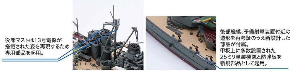 日本海軍 戦艦 榛名 昭和19年 捷一号作戦プラモデル(フジミ1/700 特シリーズNo.076)商品画像_1