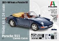 イタレリ1/24 カーモデルポルシェ 911 カレラ カブリオレ