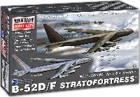 ミニクラフト1/144 軍用機プラスチックモデルキットB-52D/F ストラトフォートレス
