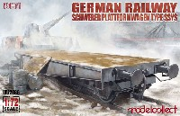 モデルコレクト1/72 AFV キットドイツ 平貨車 SSYS