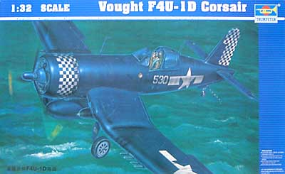 ヴォート F4U-1D コルセアプラモデル(トランペッター1/32 エアクラフトシリーズNo.02221)商品画像