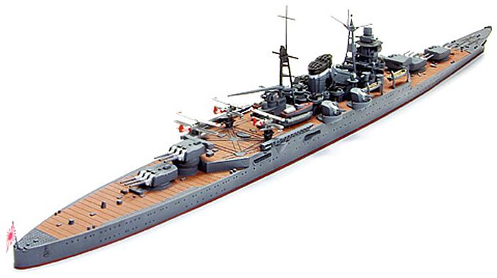 日本軽巡洋艦 熊野プラモデル(タミヤ1/700 ウォーターラインシリーズNo.344)商品画像_3
