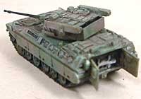 自衛隊 89式装甲戦闘車 (FV)レジン(紙でコロコロ1/144 ミニミニタリーフィギュアNo.021)商品画像_3