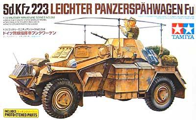 ドイツ 無線指揮車 フンクワーゲン (エッチングパーツ付)プラモデル(タミヤ1/35 ミリタリーミニチュアシリーズNo.268)商品画像
