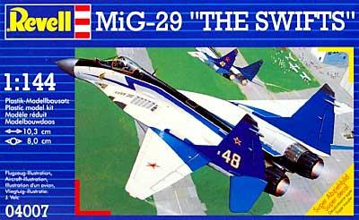 Mig-29 ザ・スウィフツプラモデル(レベル1/144 飛行機No.04007)商品画像