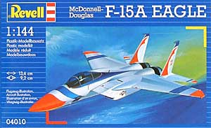 F-15A イーグルプラモデル(レベル1/144 飛行機No.04010)商品画像
