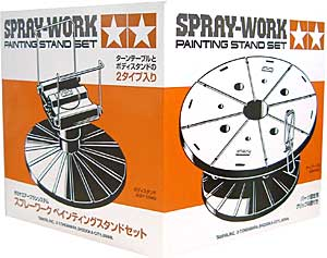 スプレーワーク ペインティングスタンドセット乾燥台(タミヤタミヤエアーブラシシステムNo.022)商品画像