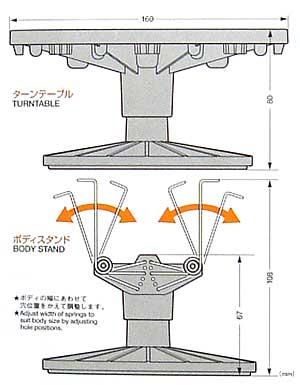 スプレーワーク ペインティングスタンドセット乾燥台(タミヤタミヤエアーブラシシステムNo.022)商品画像_2