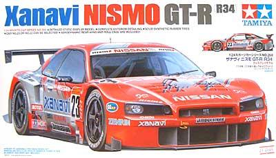 ザナビィ ニスモ GT-R (R34)プラモデル(タミヤ1/24 スポーツカーシリーズNo.268)商品画像