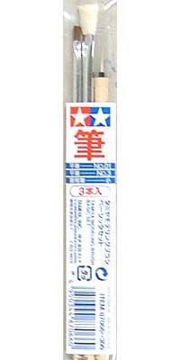 タミヤ モデリングブラシ ベーシックセット筆(タミヤタミヤ モデリングブラシNo.87066)商品画像