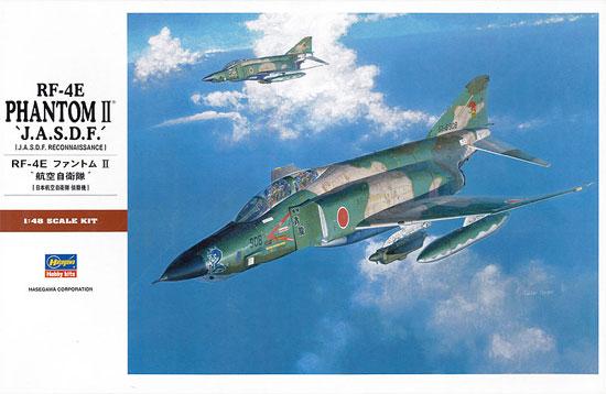 RF-4E ファントム 2 航空自衛隊プラモデル(ハセガワ1/48 飛行機 PTシリーズNo.PT030)商品画像