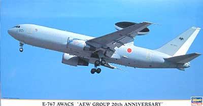 E-767 エーワックス AEWグループ 20th アニバーサリープラモデル(ハセガワ1/200 飛行機 限定生産No.10655)商品画像