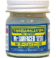 Mr.サーフェイサー 1200 (ビン入)