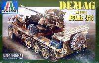 イタレリ1/35 ミリタリーシリーズドイツ デマーグ D7 Pak38搭載型