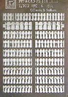 ピットロード1/700 エッチングパーツシリーズ水兵セット