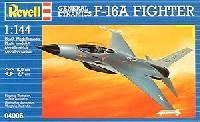 レベル1/144 飛行機F-16A ファイティングファルコン