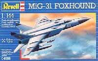 レベル1/144 飛行機Mig-31 フォックス・ハウンド