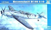 トランペッター1/24 エアクラフトシリーズメッサーシュミット Bf109G-10