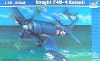 トランペッター1/32 エアクラフトシリーズヴォート コルセア F4U-4