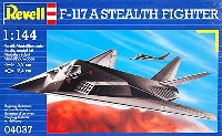 レベル1/144 飛行機F-117A ステルスファイター