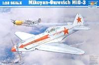 トランペッター1/32 エアクラフトシリーズミコヤン・グレビッチ MiG-3