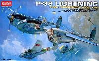 アカデミー1/48 Scale AircraftsP-38 ライトニング