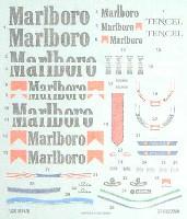 1/20 MP4/8 Marlboroデカールセット