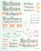スタジオ27F-1 オリジナルデカール1/20 MP4/5B Malboroデカールセット