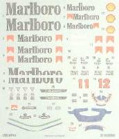 1/20 MP4/4 Malboroデカールセット