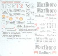 1/20 MP4/7 ハイテクデカール Ver.2