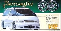 アオシマ1/24 VIPカー パーツシリーズベルサリオ スポーク 2 (19インチ引っ張りタイヤ・ディープリムホイール)