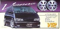 アオシマ1/24 VIPカー パーツシリーズヴィエナ クライス (19インチ引っ張りタイヤ・ディープリムホイール)