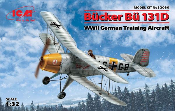 ビュッカー Bu131D ドイツ練習機プラモデル(ICM1/32 エアクラフトNo.32030)商品画像