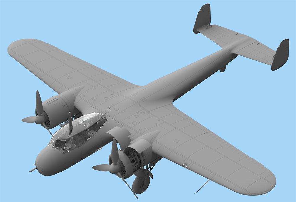ドルニエ Do17Z-7 夜間戦闘機プラモデル(ICM1/48 エアクラフト プラモデルNo.48245)商品画像_2