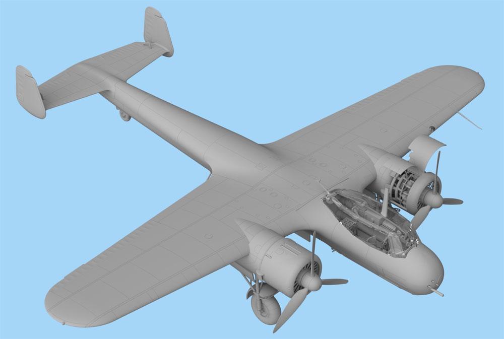 ドルニエ Do17Z-7 夜間戦闘機プラモデル(ICM1/48 エアクラフト プラモデルNo.48245)商品画像_3