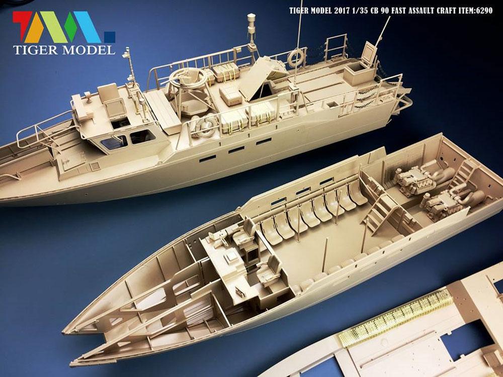 スウェーデン CB90 高速攻撃艇プラモデル(タイガーモデル1/35 AFVNo.6293)商品画像_1