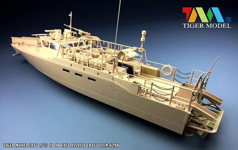 スウェーデン CB90 高速攻撃艇プラモデル(タイガーモデル1/35 AFVNo.6293)商品画像_2