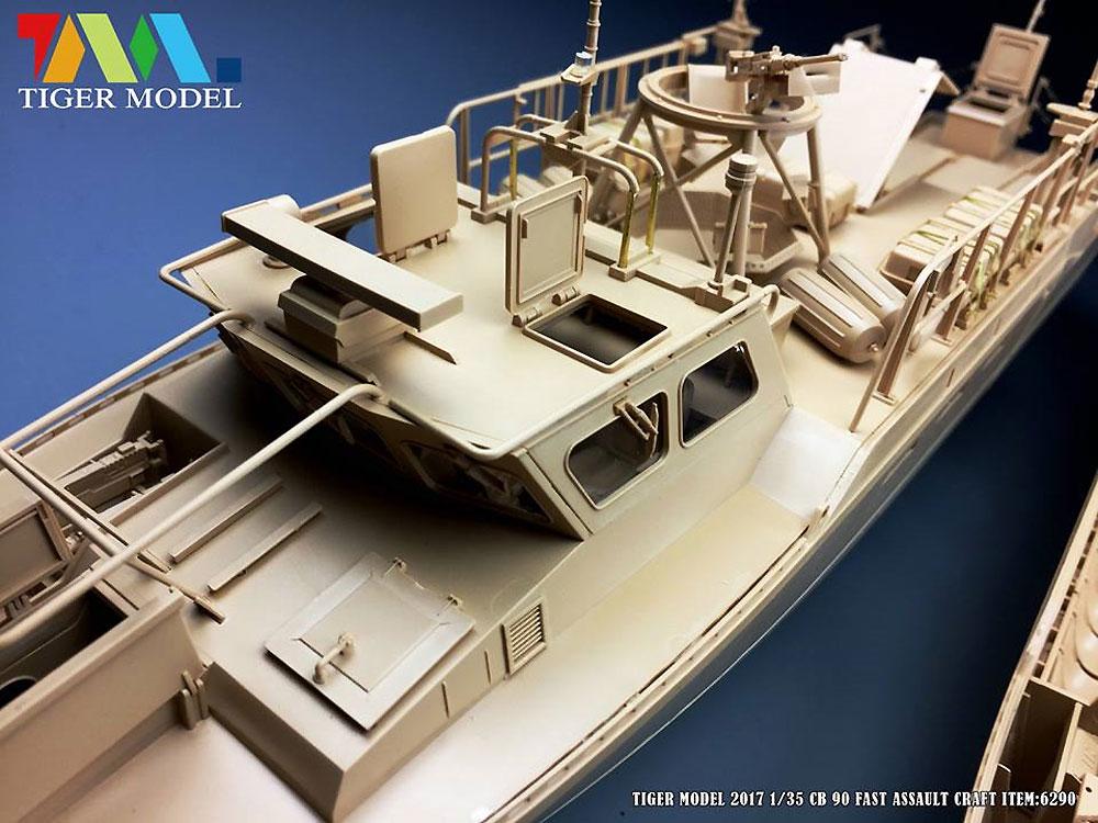 スウェーデン CB90 高速攻撃艇プラモデル(タイガーモデル1/35 AFVNo.6293)商品画像_3