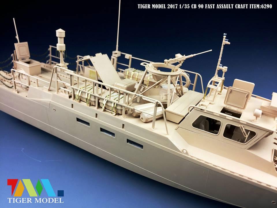 スウェーデン CB90 高速攻撃艇プラモデル(タイガーモデル1/35 AFVNo.6293)商品画像_4
