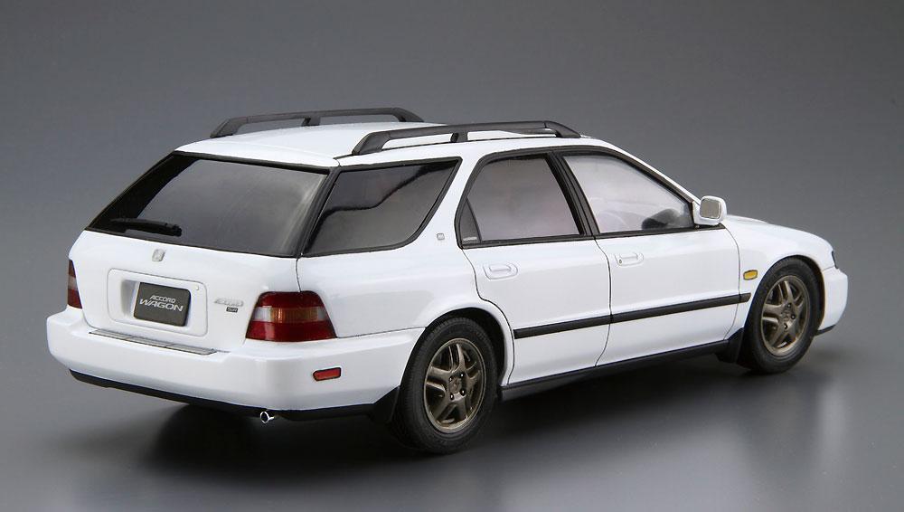 ホンダ CF2 アコードワゴン SiR '96プラモデル(アオシマ1/24 ザ・モデルカーNo.076)商品画像_3