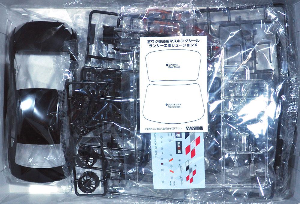 ラリーアート CZ4A ランサーエボリューション X '07 (ミツビシ)プラモデル(アオシマ1/24 ザ・チューンドカーNo.052)商品画像_1