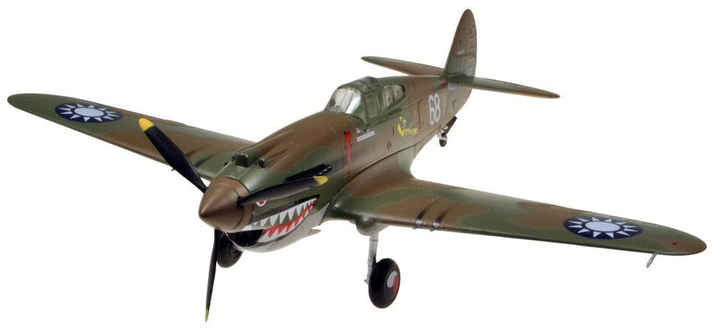 P-40B ウォーホークプラモデル(童友社1/72 彩シリーズNo.007)商品画像_2