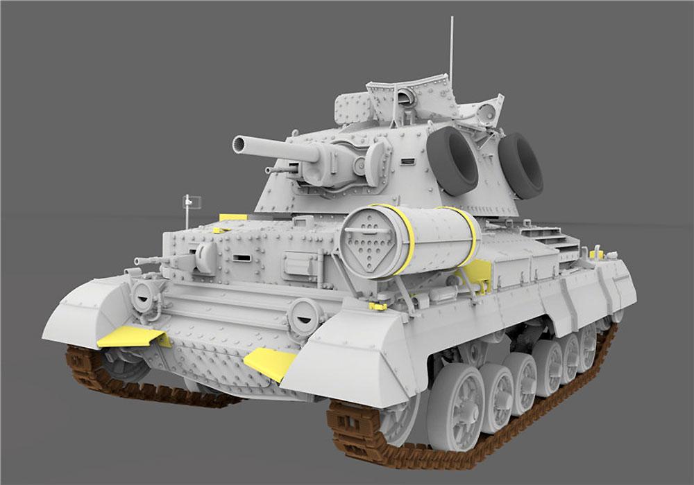 巡航戦車 A10 Mk.1A CSプラモデル(ゲッコーモデル1/35 ミリタリーNo.35GM0001)商品画像_2